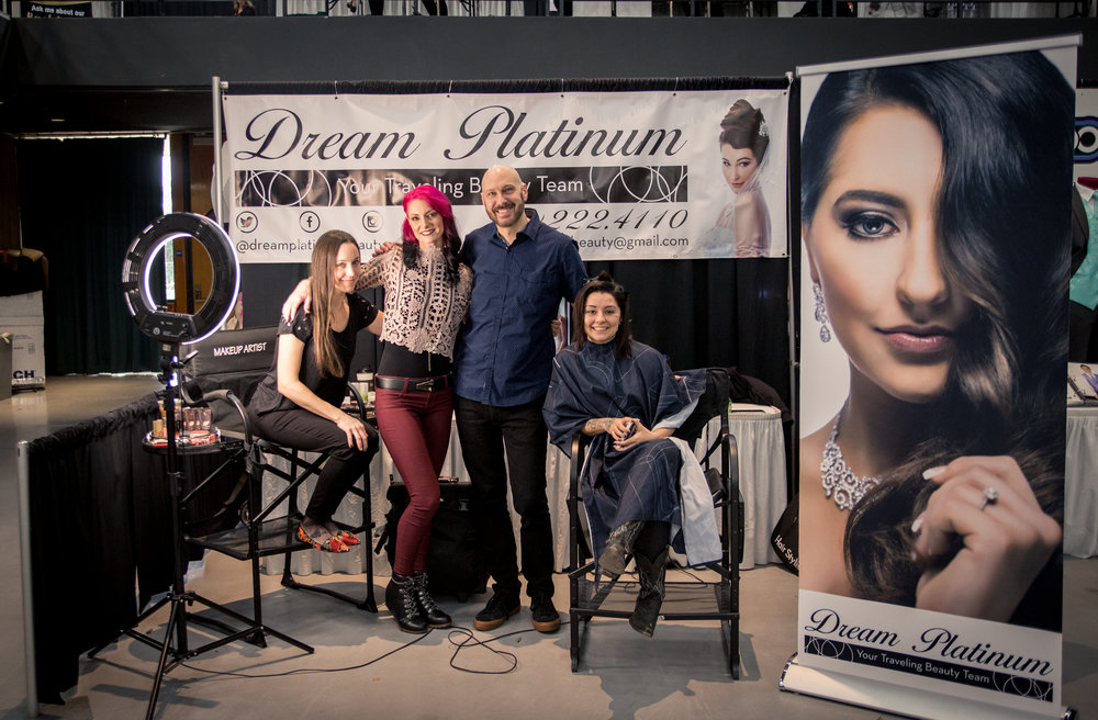 Dream Platinum Salon Redding Bridal Show Wedding Expo