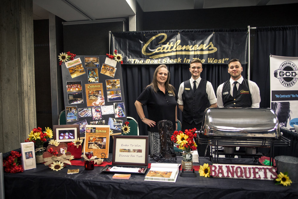 Cattlemens Steakhouse Redding Bridal Show Wedding Expo