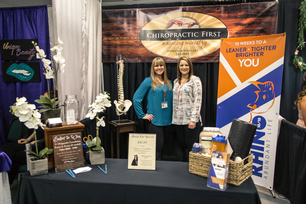 Chiropractic First Redding Bridal Show Wedding Expo