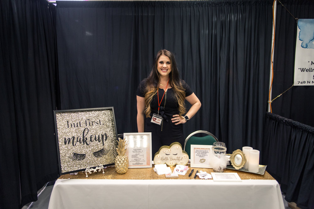 Kylee Robrecht Makeup Artistry and Esthetics Redding Bridal Show Wedding Expo