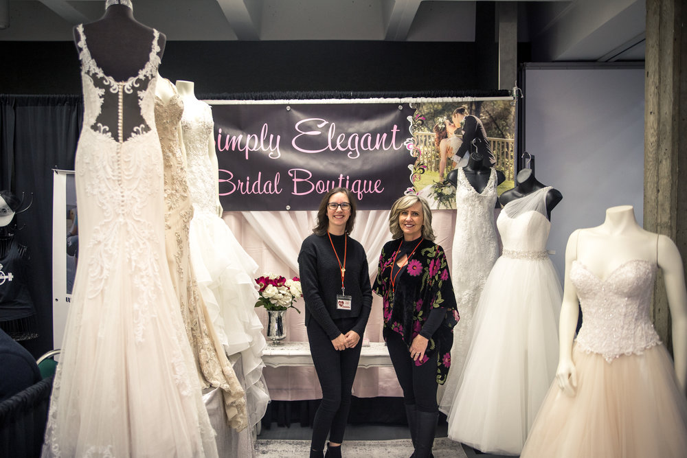Simply Elegant Bridal Boutique Redding Bridal Show Wedding Expo