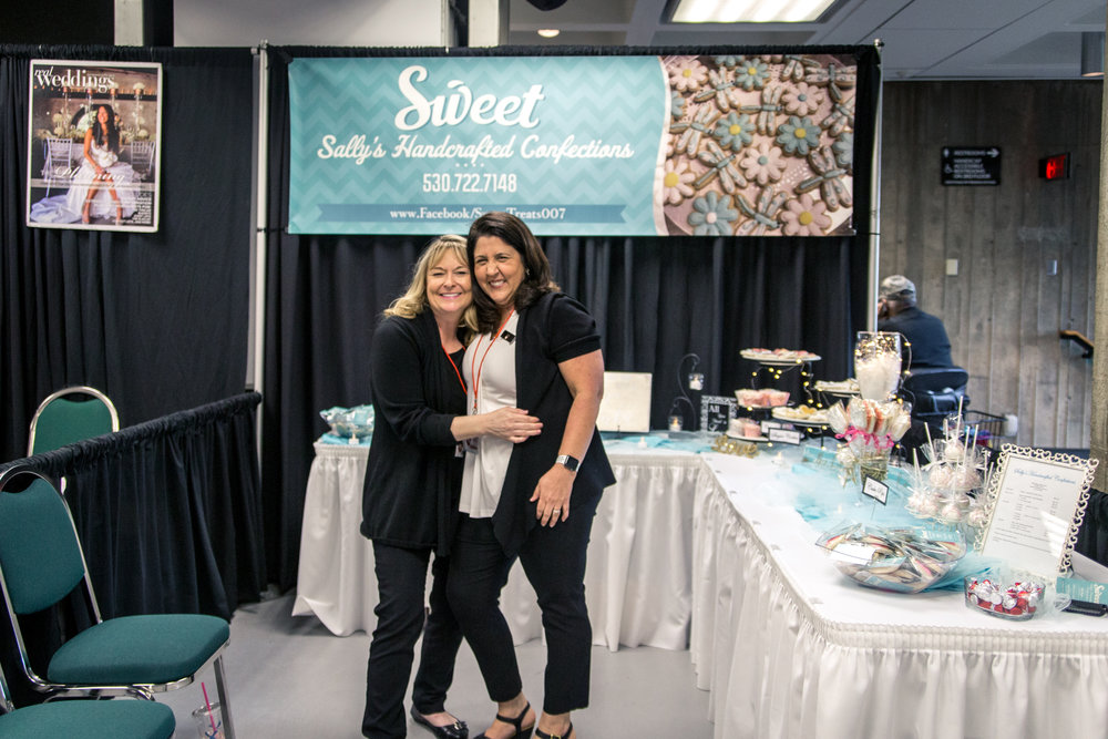Sweet Sally's Handcrafted Confections Redding Bridal Show Wedding Expo