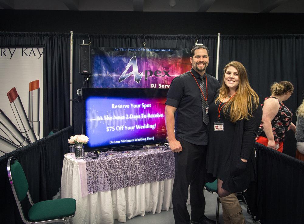 Apex DJ Services Redding Bridal Show Wedding Expo