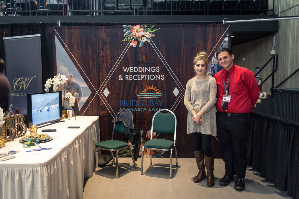 Bridge Bay at Shasta Lake Redding Bridal Show Wedding Expo
