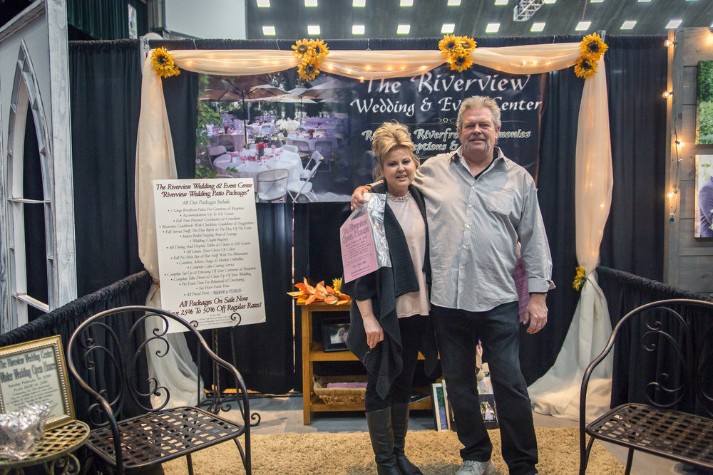 The Riverview Wedding and Event Center Redding Bridal Show Wedding Expo