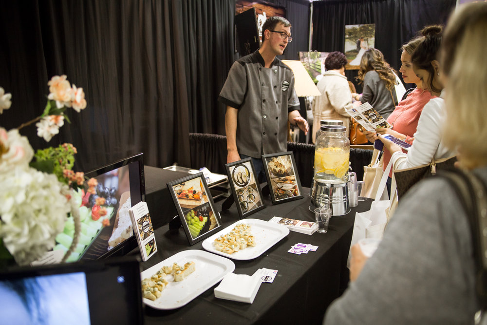 Bachmans Catering Redding Bridal Show Wedding Expo