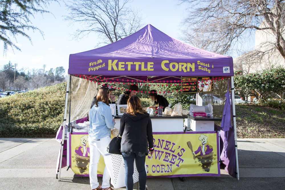 Madd Kernel's Kettle Corn Redding Bridal Show Wedding Expo