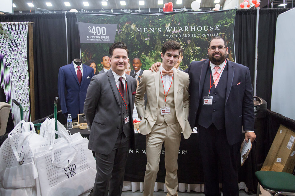 Men's Wearhouse Redding Bridal Show Wedding Expo