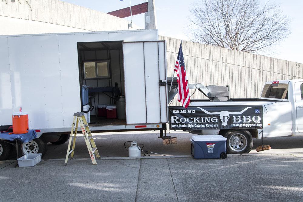 Rocking P BBQ Redding Bridal Show Wedding Expo