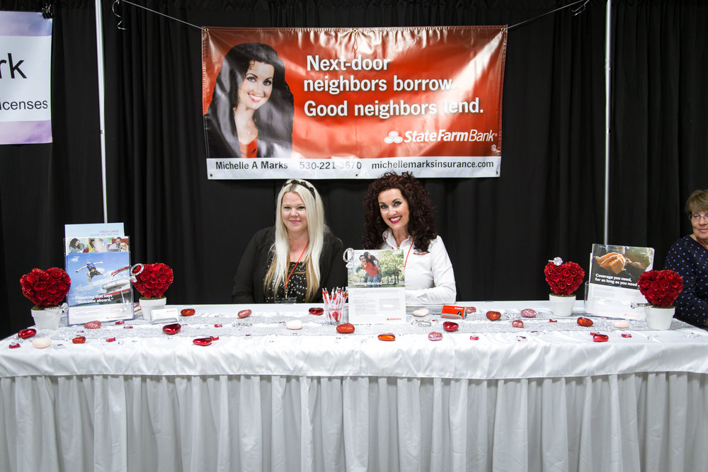 State Farm Insurance with Michelle Marks Redding Bridal Show Wedding Expo