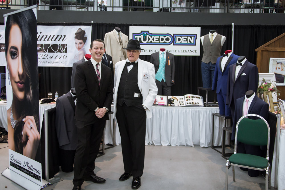Tuxedo Den Redding Bridal Show Wedding Expo