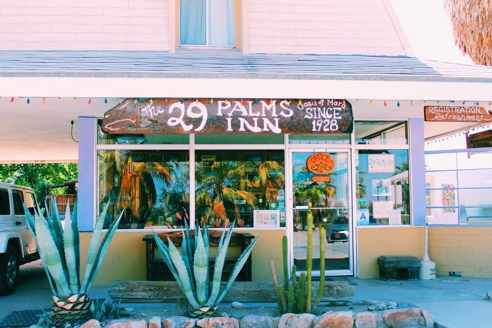 The 29 Palms Inn—from the beginning...