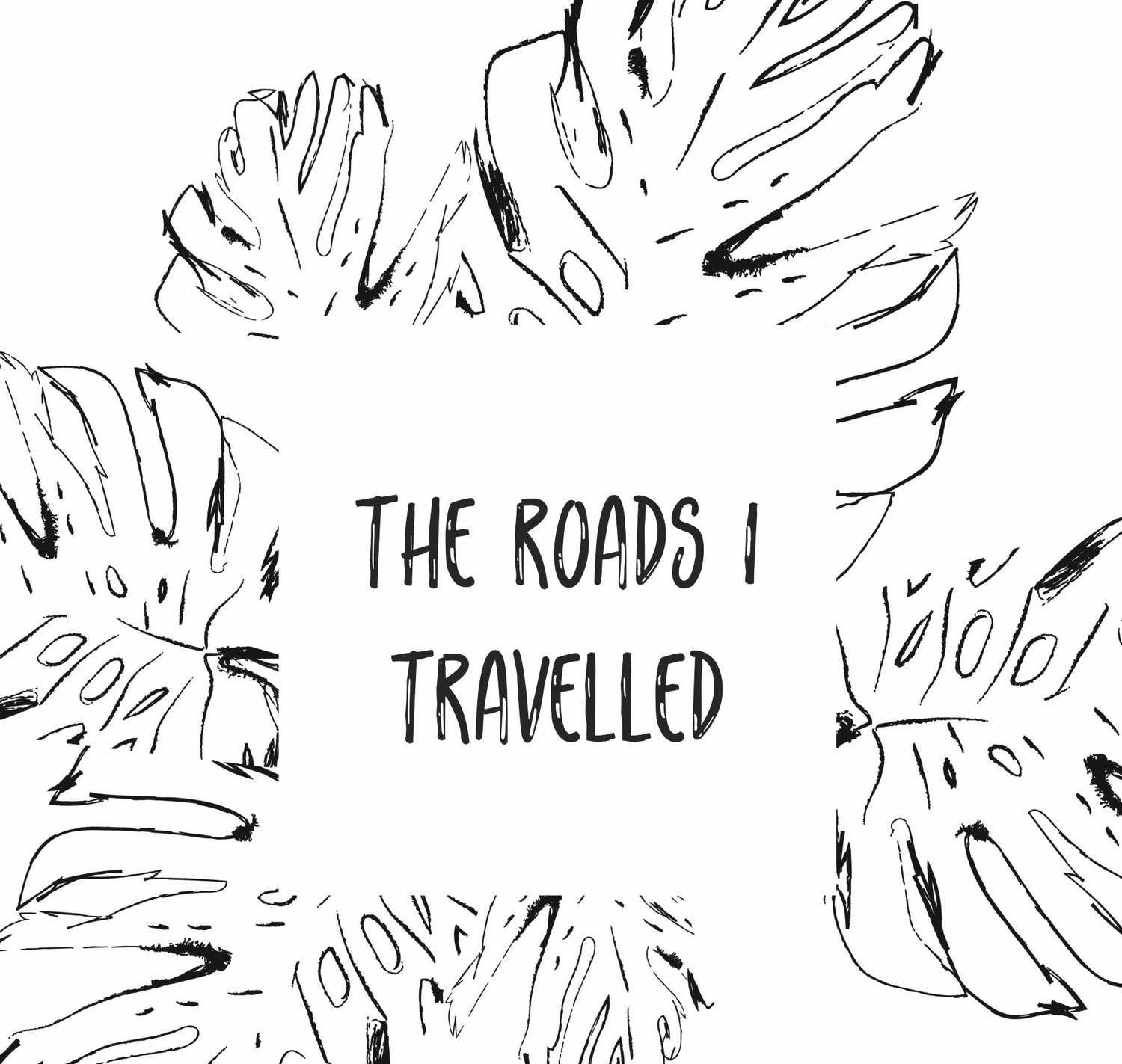 THE ROADS I TRAVELLED
