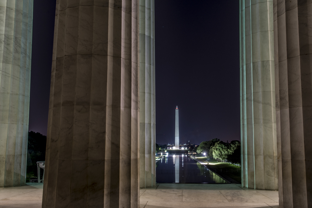 Abe Lincoln's View of the Washington Monument