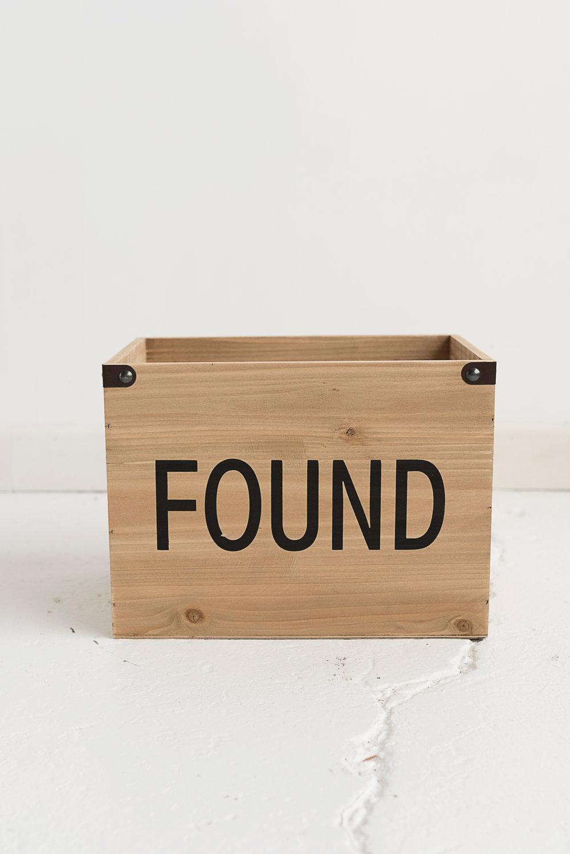 Found Box