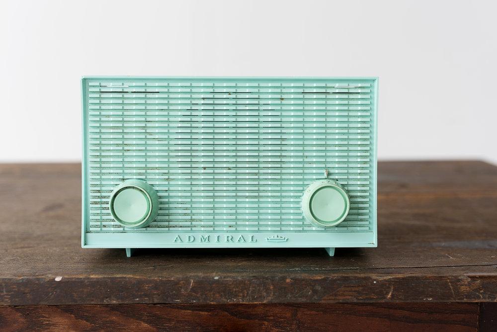 Teal Admiral Radio