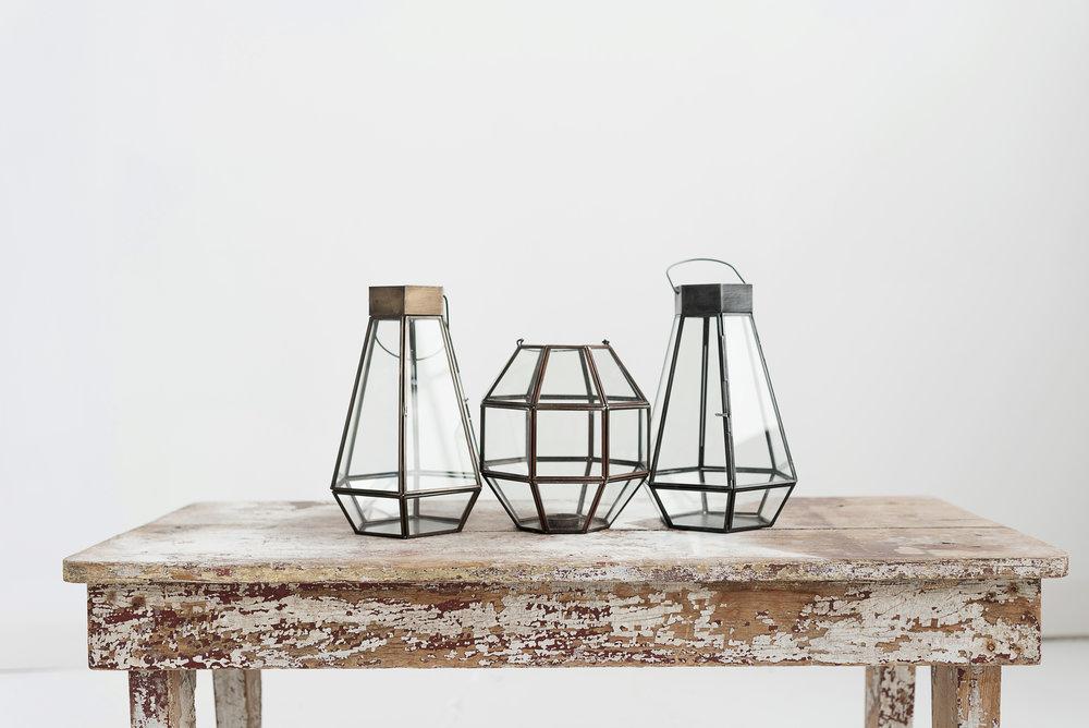 3D Metal Lanterns
