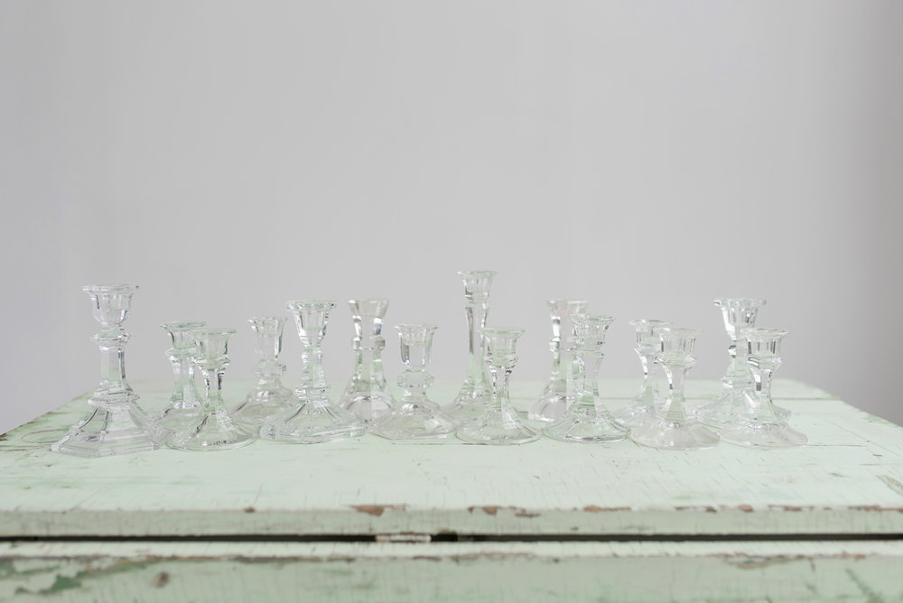 Crystal Candlestick Collection