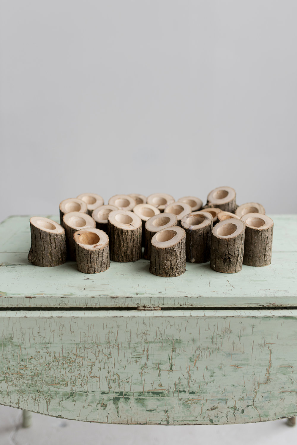 Wooden Votive Holders