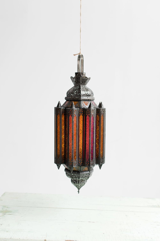 Hanging Boho Lamp