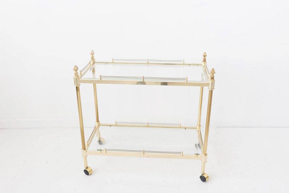 New Inventory - gold bar cart
