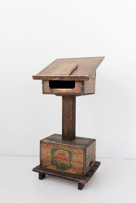 New Inventory - wooden podium