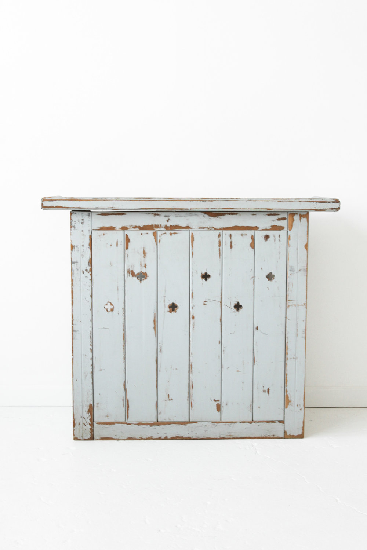 New Inventory - Blue Wooden Bar