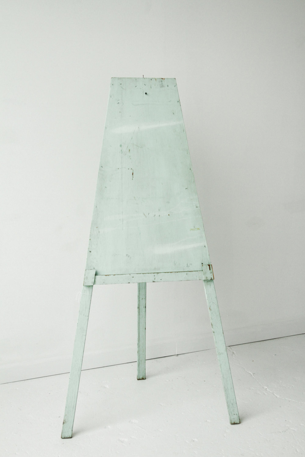 New Inventory - Blue Wooden Easel