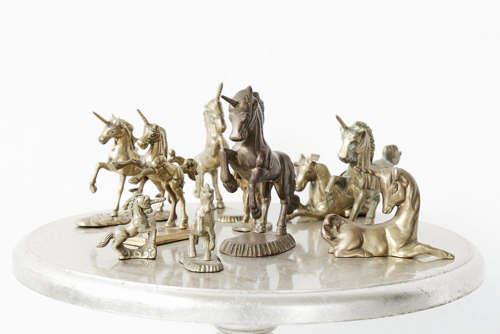 Brass Unicorn Collection