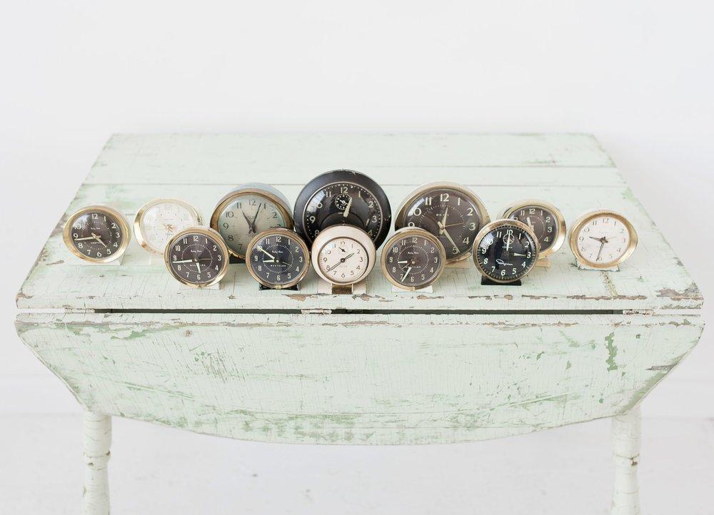 Vintage Alarm Clock Collection