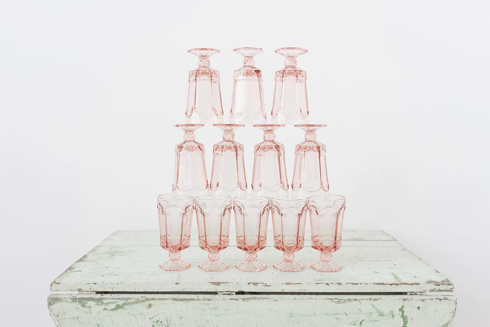 Pink Goblets (12)