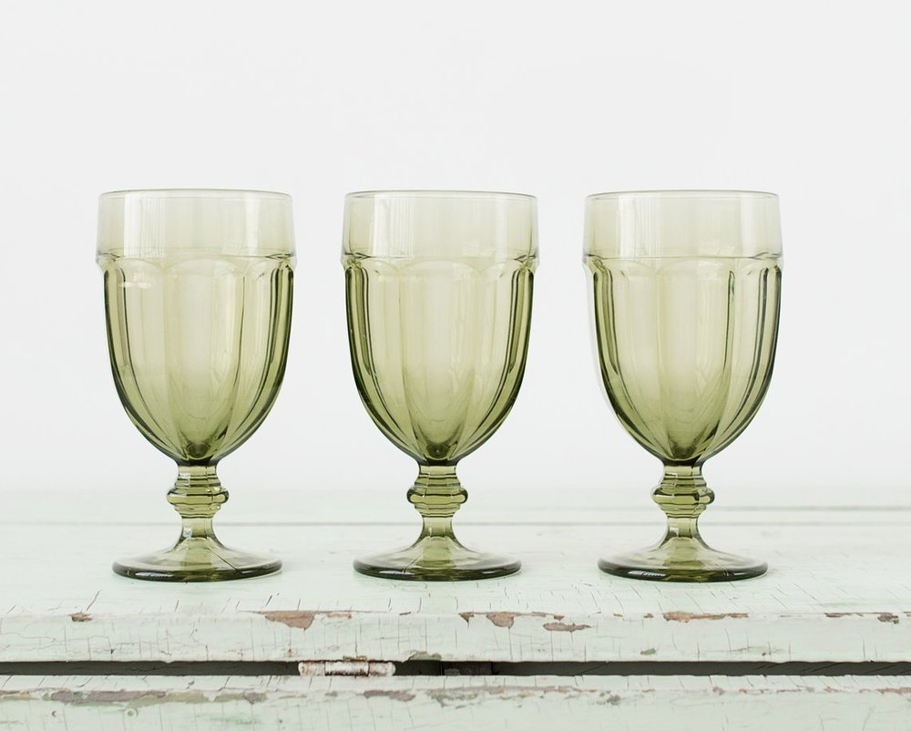 Green Goblets (3)