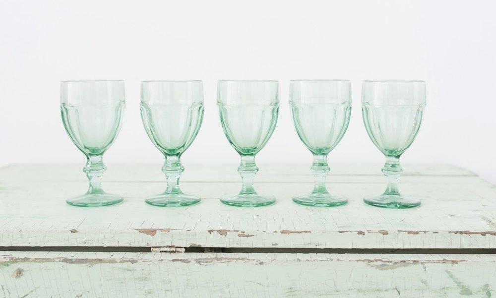 Aqua Goblets (5)