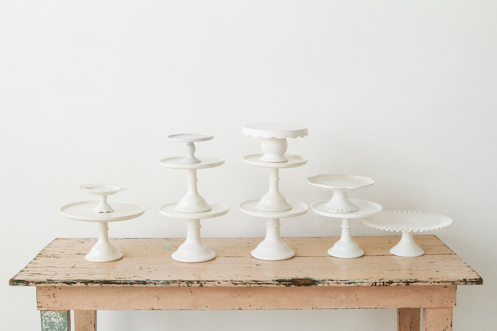 White Cakestand Collection