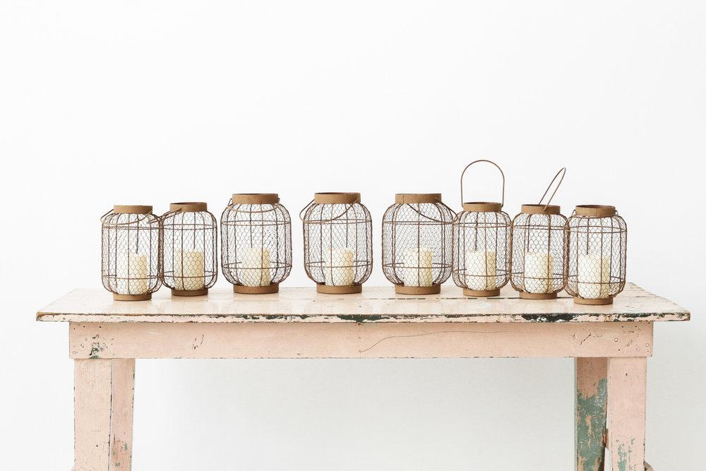 Rustic Lanterns (8)