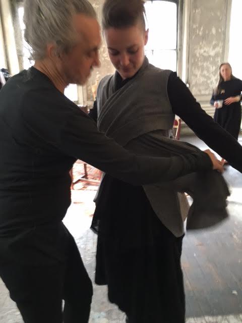 77f7ff95081 Marc Le Bihan At His Paris Showroom — blanc