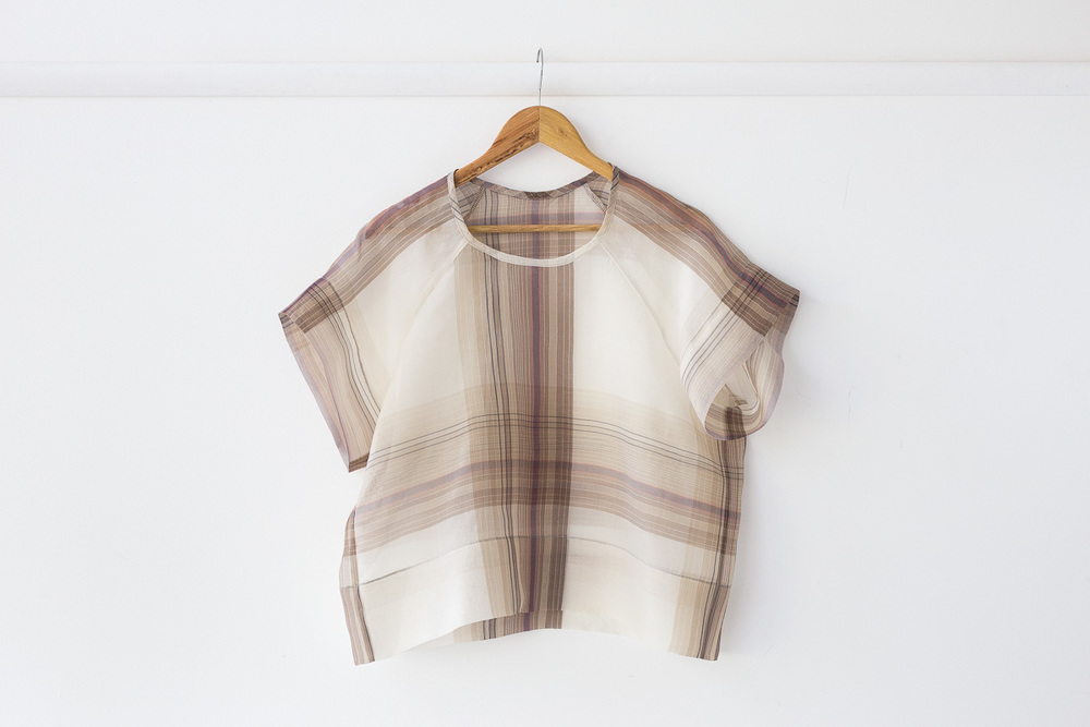 CONSTRUCTING WITH A DIGITAL PATTERN- THE AEOLIAN TEE/DRESS