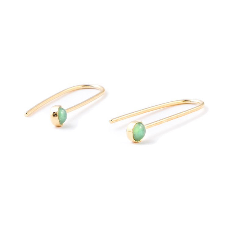 Bahati Chrysoprase Earrings