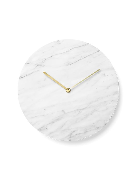 Marble Wall Clock by Norm Architects