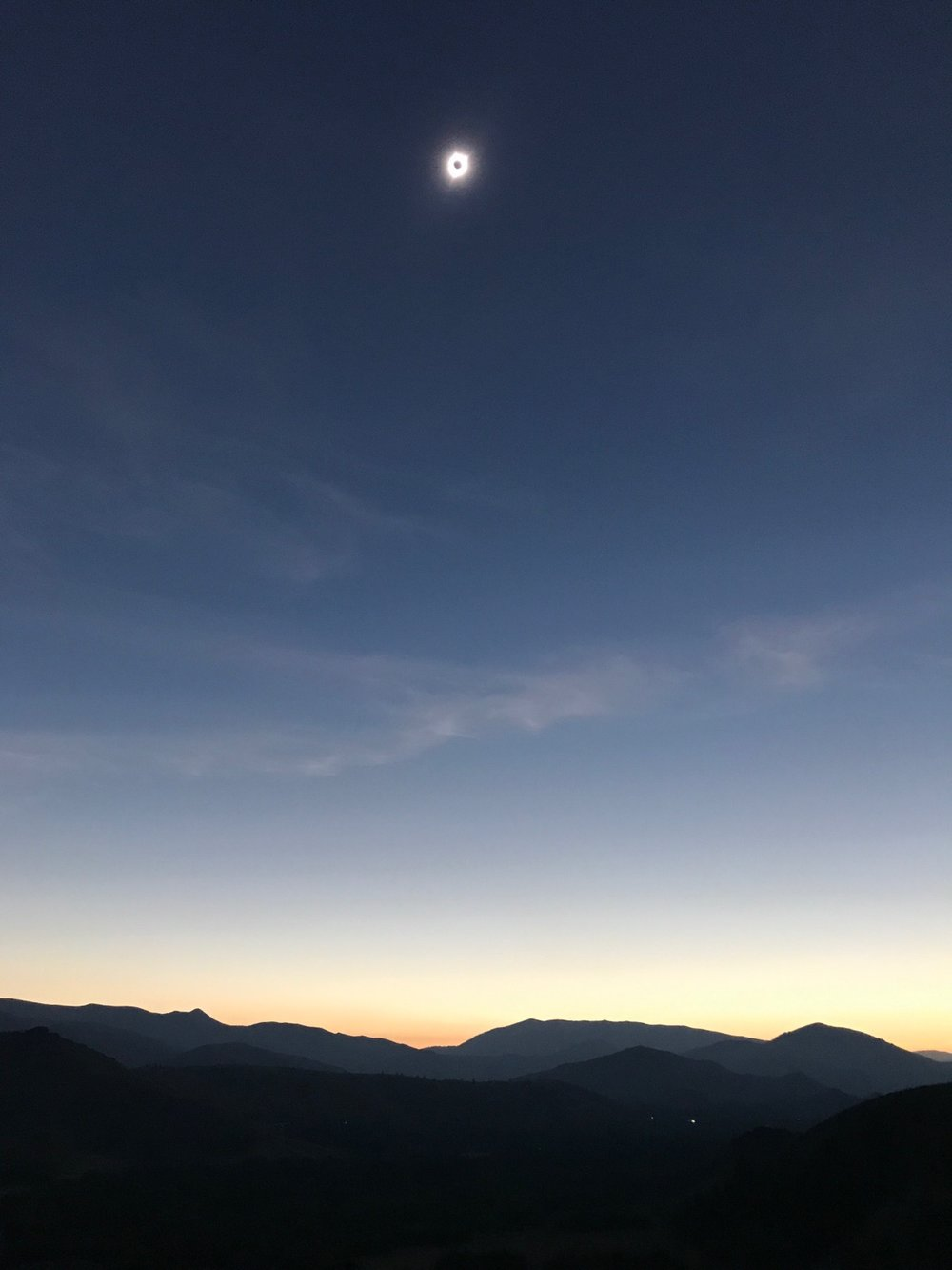 Total Eclipse photo by Ryan Gates.