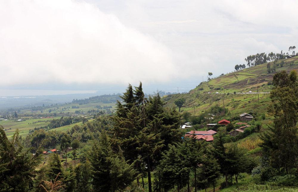 volcano overlook