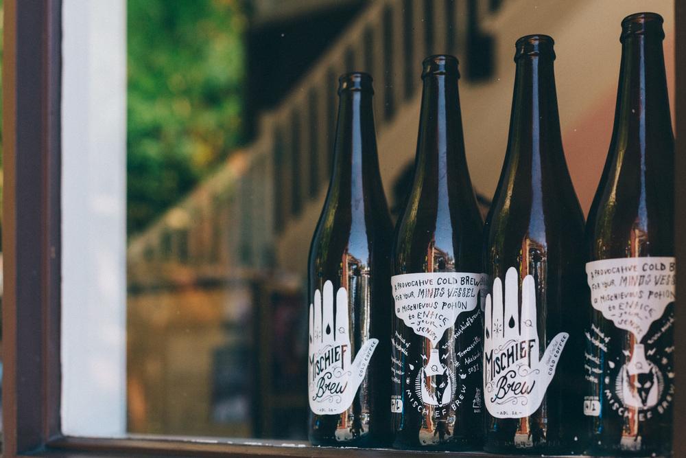 Mischief Brew Labels by Bohie