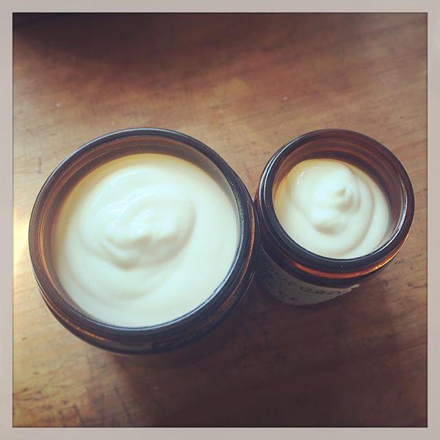 Experimenting with sun protection.  #sunscreen #sun #natural #handmade #zincoxide #cream #beeswax #jojoba #organic #terracottapaste #experiment #chemistry #fun