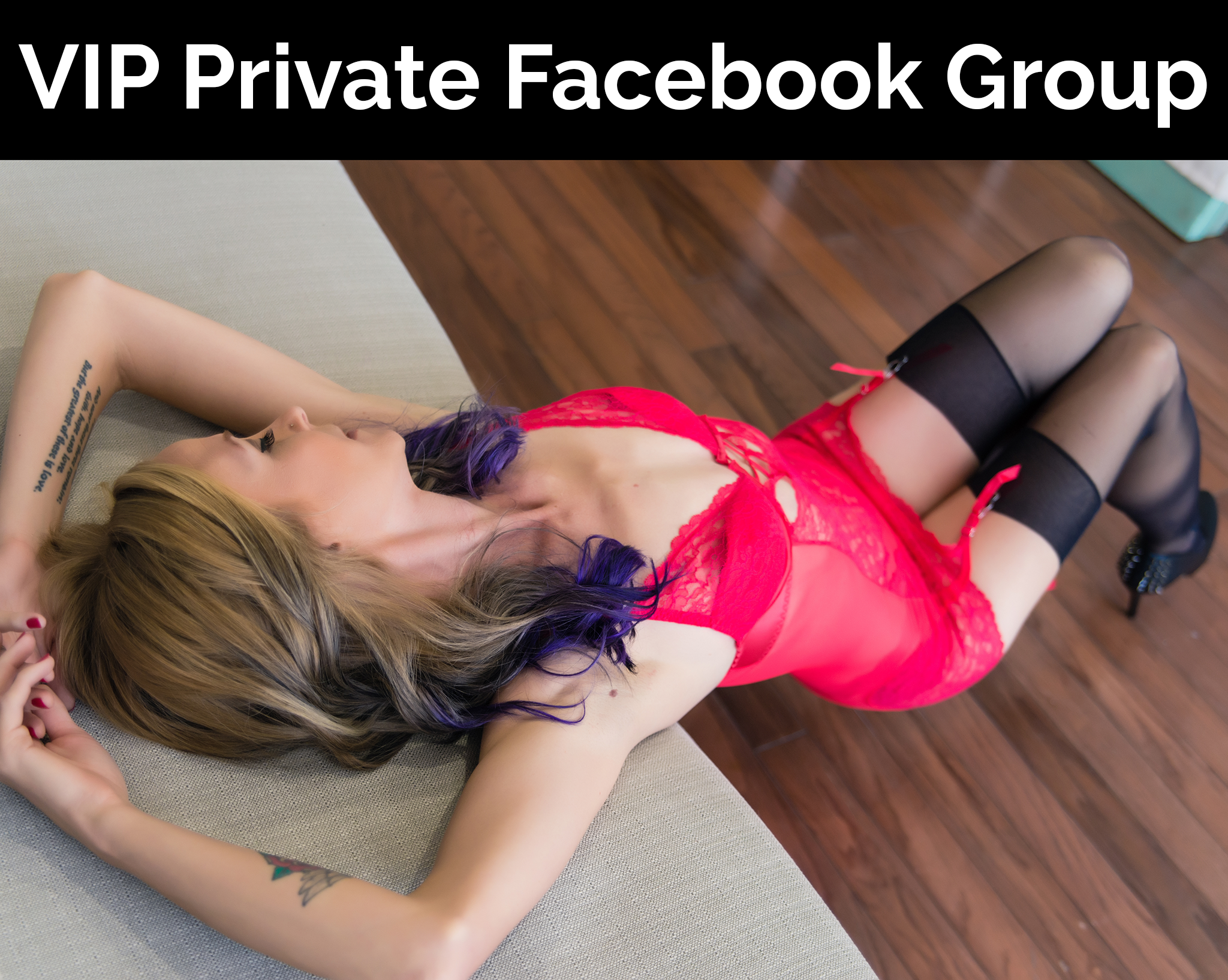 VIP Private Facebook Group