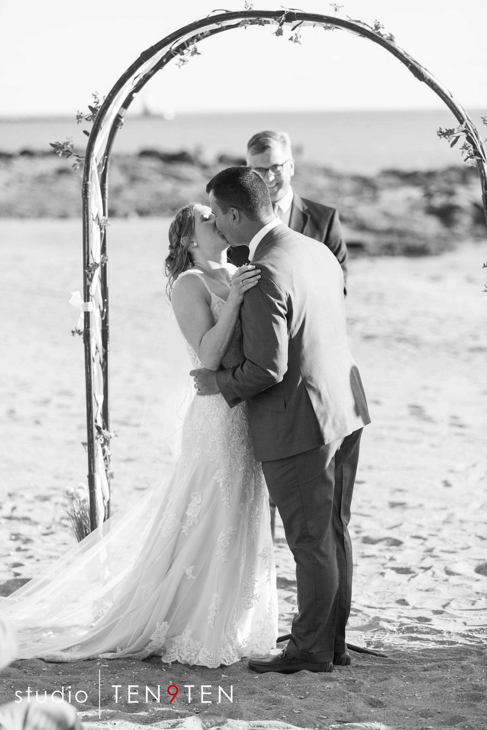 Connecticut Beach Wedding Photography