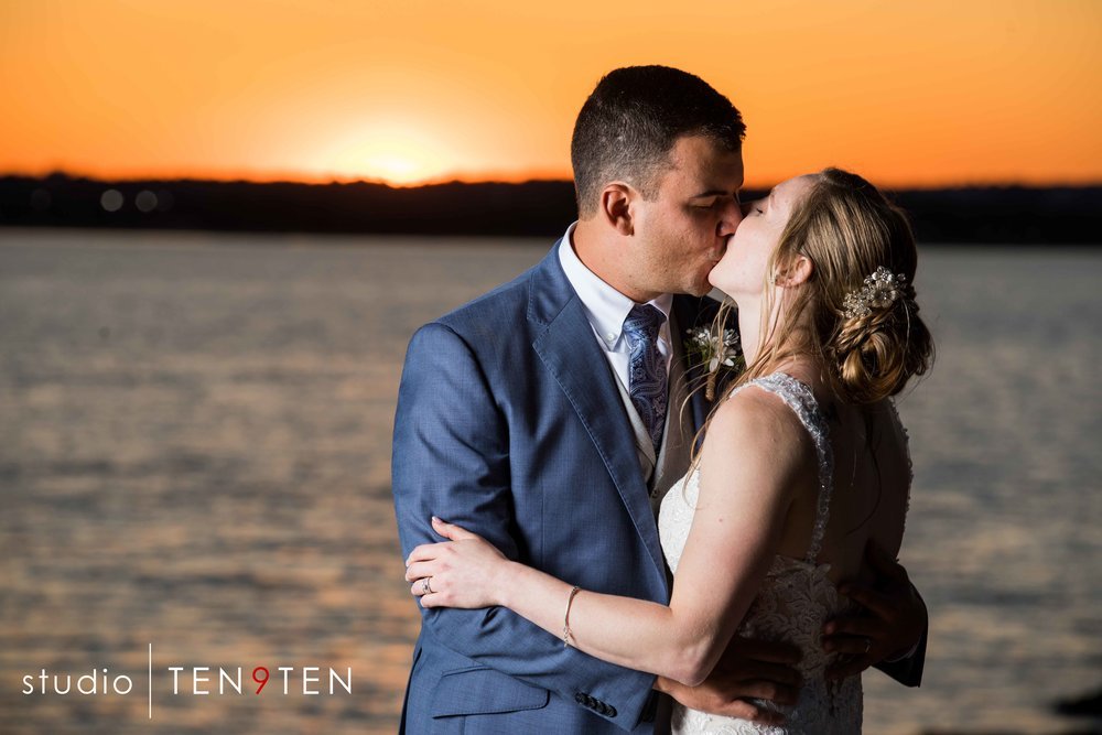 sunset wedding photography ct