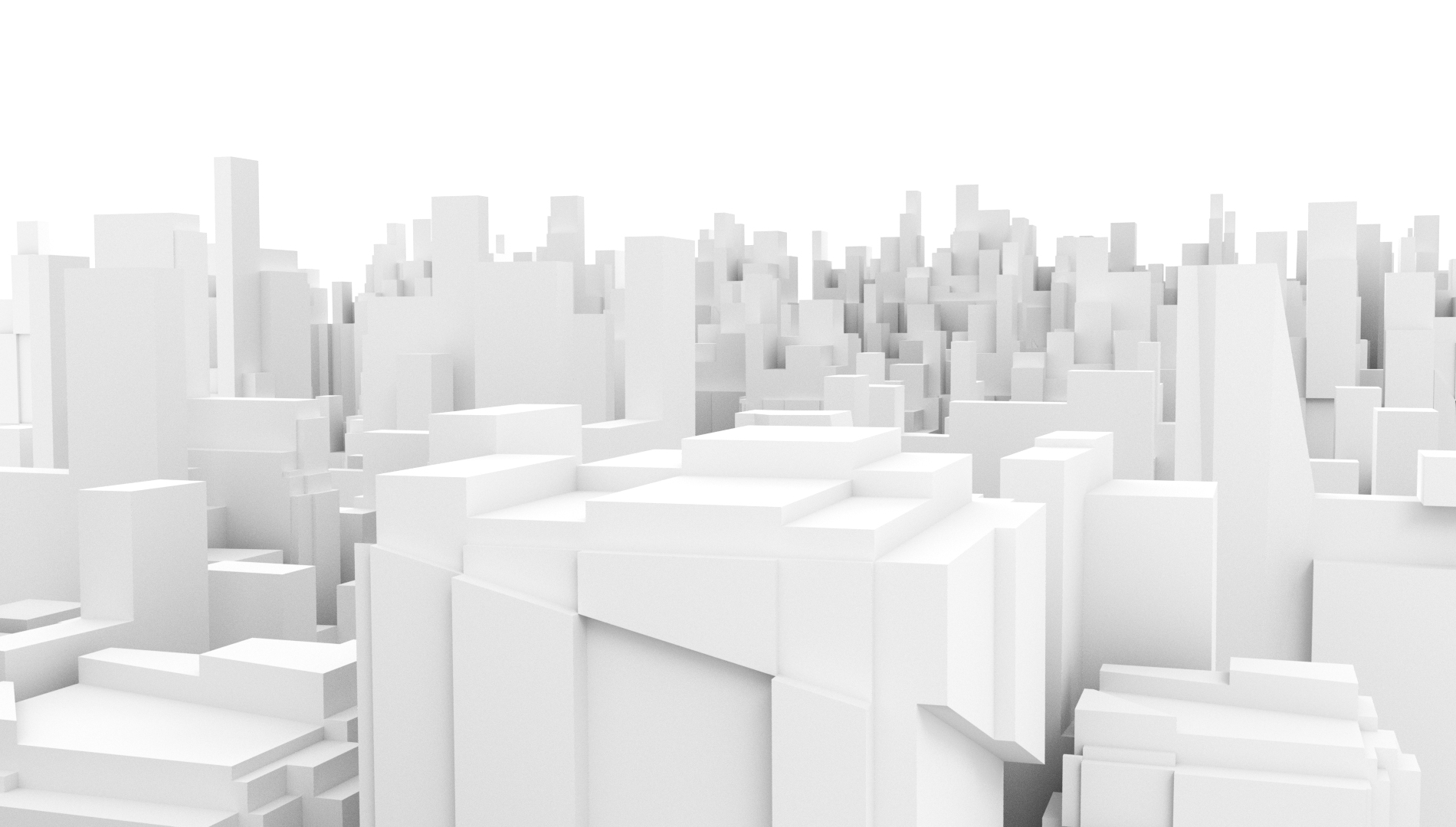 abstract city series 3d rendering dan covey creative