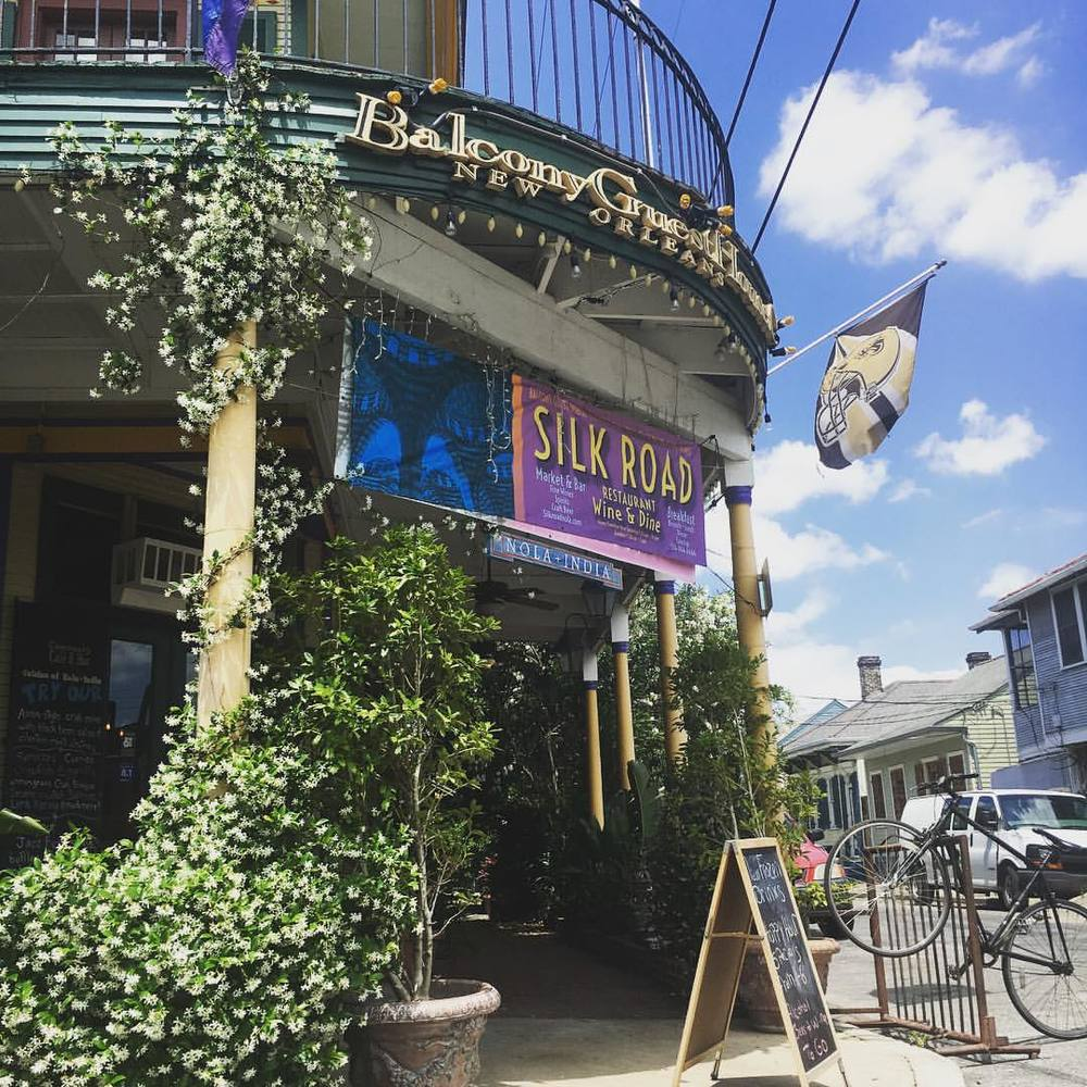Take a walk around the Marigny and see the beautiful neighborhood.