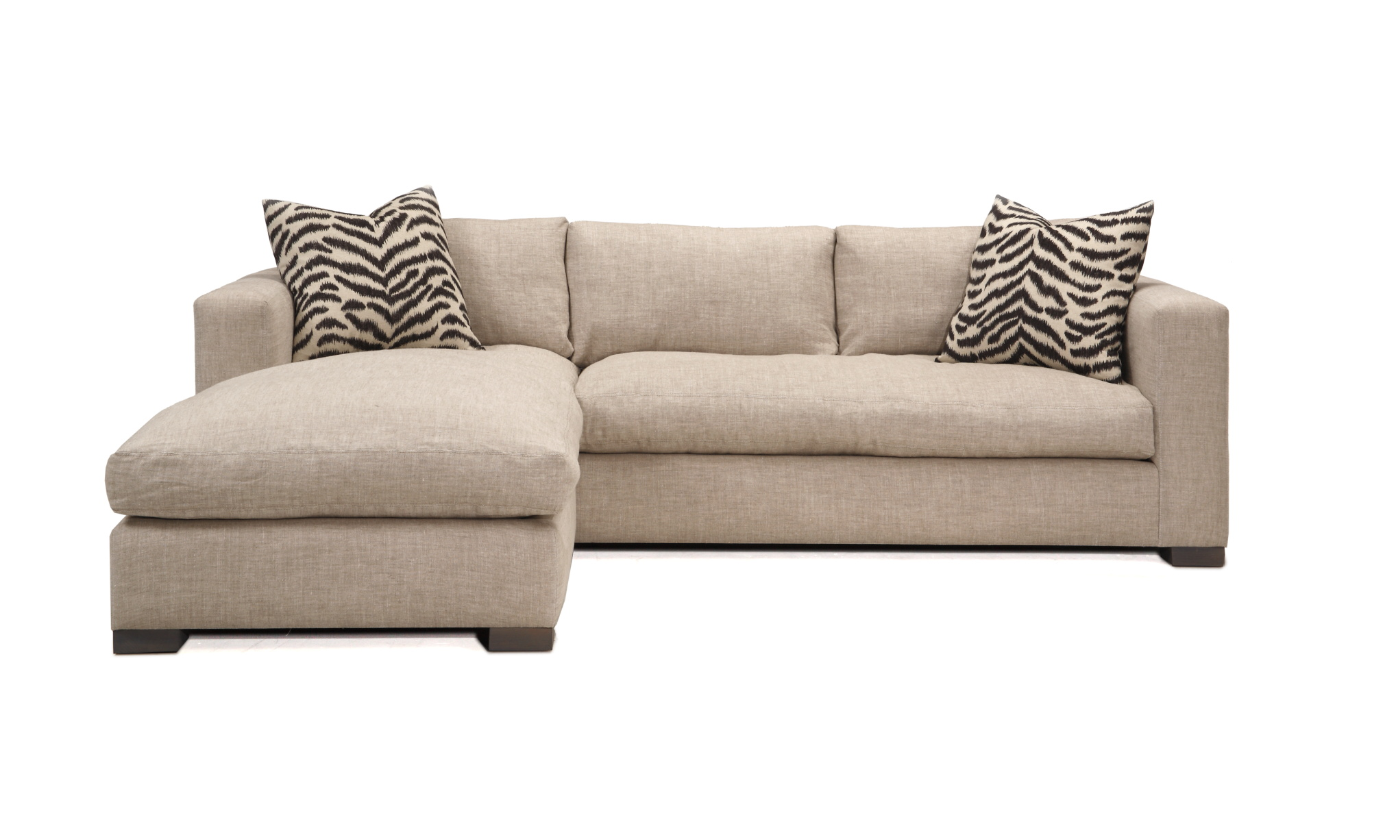 Charmant Morgan Sectional With Reversible Chaise/Ottoman