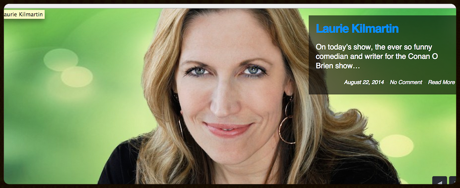 Podcast with Laurie Kilmartin